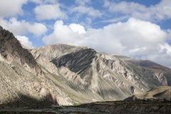 Śnieżna halna sceneria na plateau 07 Zdjęcia Royalty Free