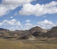 Śnieżna halna sceneria na plateau 08 Zdjęcie Royalty Free