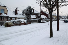 śnieżna Kent droga Fotografia Royalty Free
