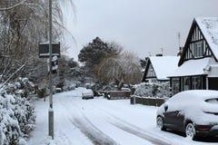 śnieżna Kent droga Obraz Stock