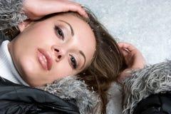 śnieżna kobieta zdjęcie stock