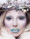 Śnieżna królowa Obrazy Royalty Free