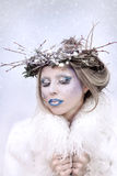Śnieżna królowa Obraz Royalty Free
