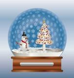 Śnieżna kula ziemska Obraz Royalty Free