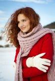 Śnieżna miłość Obraz Royalty Free
