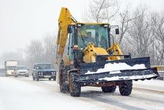 śnieżna pogoda Zdjęcie Royalty Free