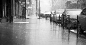 Śnieżna pogoda obrazy royalty free