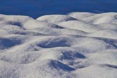 Śnieżna pokrywa fotografia royalty free