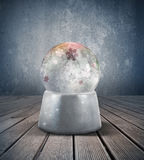 Śnieżna sfera zdjęcia stock