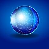 Śnieżna sfera Zdjęcie Stock