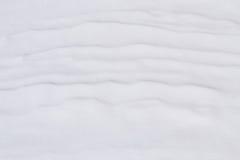 Śnieżna skorupa, falista Fotografia Royalty Free
