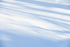 śnieżna tekstura Obrazy Royalty Free