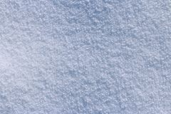 Śnieżna tekstura na słonecznym dniu fotografia stock
