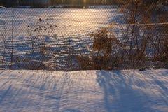 Śnieżna wioska Obrazy Stock