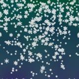 Śnieżna wytwarzająca tło tekstura Obraz Royalty Free