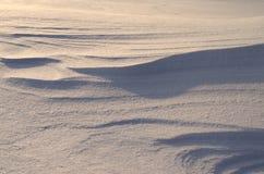 Śnieżne diuny Zdjęcia Stock