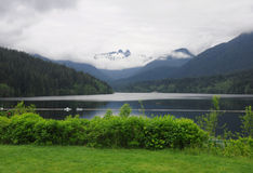 Śnieżne góry zdjęcia royalty free
