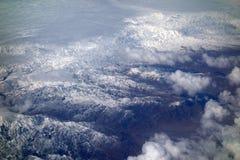 Śnieżne góry zdjęcie stock
