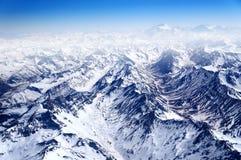 Śnieżne góry Obraz Royalty Free