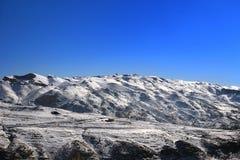 Śnieżne góry w Liban Fotografia Royalty Free
