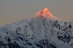 Śnieżne Meili góry Obraz Stock