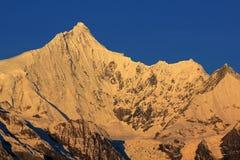 Śnieżne Meili góry Zdjęcia Royalty Free