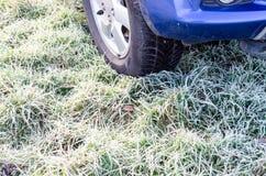 Śnieżne opony Fotografia Stock