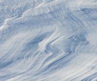 Śnieżne tekstury Obrazy Royalty Free
