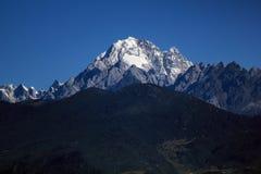 Śnieżne Yulong góry Fotografia Royalty Free