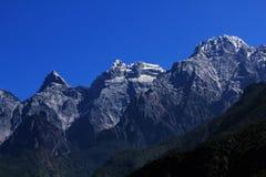 Śnieżne Yulong góry Obraz Royalty Free