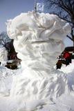 Śnieżnej rzeźby Krajowa rywalizacja - Jeziorny Genewa, WI Fotografia Stock