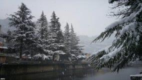Śnieżni dni Obrazy Royalty Free