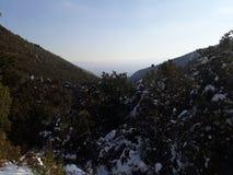 Śnieżni mountais Zdjęcia Royalty Free