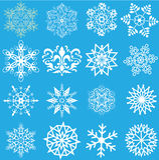 Śnieżni płatki Zdjęcia Royalty Free