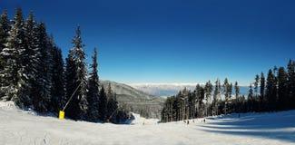 Śnieżni skłony zdjęcia stock