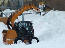 Śnieżny ładowacz Zdjęcie Royalty Free