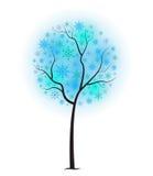Śnieżny Balowy drzewo royalty ilustracja