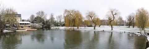 Śnieżny Cambridge, 2018 Obraz Stock