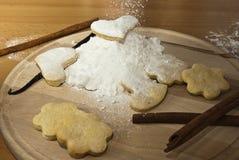 Śnieżny ciastko Zdjęcia Stock