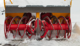 Śnieżny cleaner Zdjęcie Royalty Free