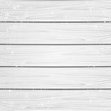 Śnieżny Drewniany tło Obrazy Stock