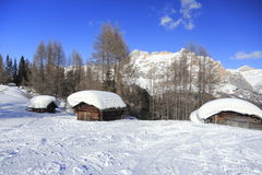 Śnieżny hovel obraz stock