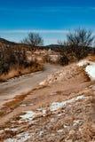Śnieżny kraju krajobraz, Zdjęcie Stock
