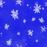 Śnieżny miecielica wzór bezszwowy ilustracja wektor