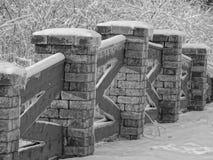 Śnieżny most Zdjęcie Royalty Free