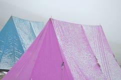 Śnieżny namiot Zdjęcie Royalty Free