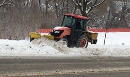 Śnieżny oranie zdjęcia royalty free