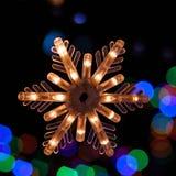 Śnieżny płatek Fotografia Royalty Free