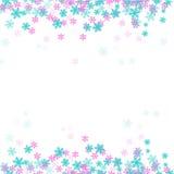 Śnieżny płatka tła wektor Zdjęcie Royalty Free