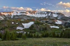 Śnieżny pasmo, Wyoming obraz royalty free